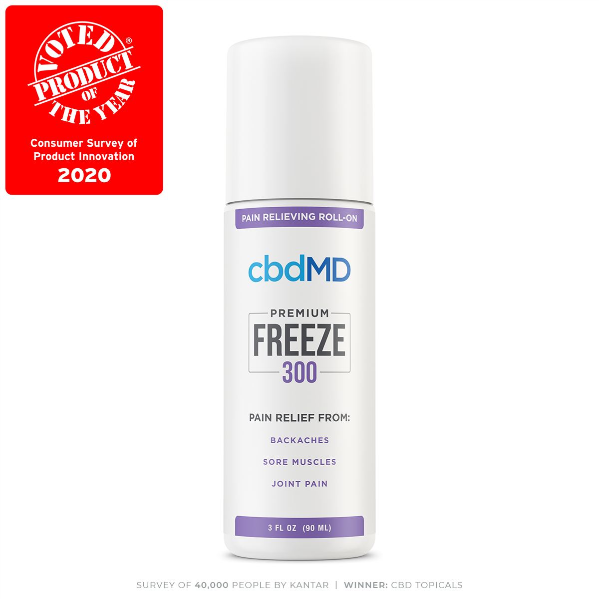cbdMD Freeze 300